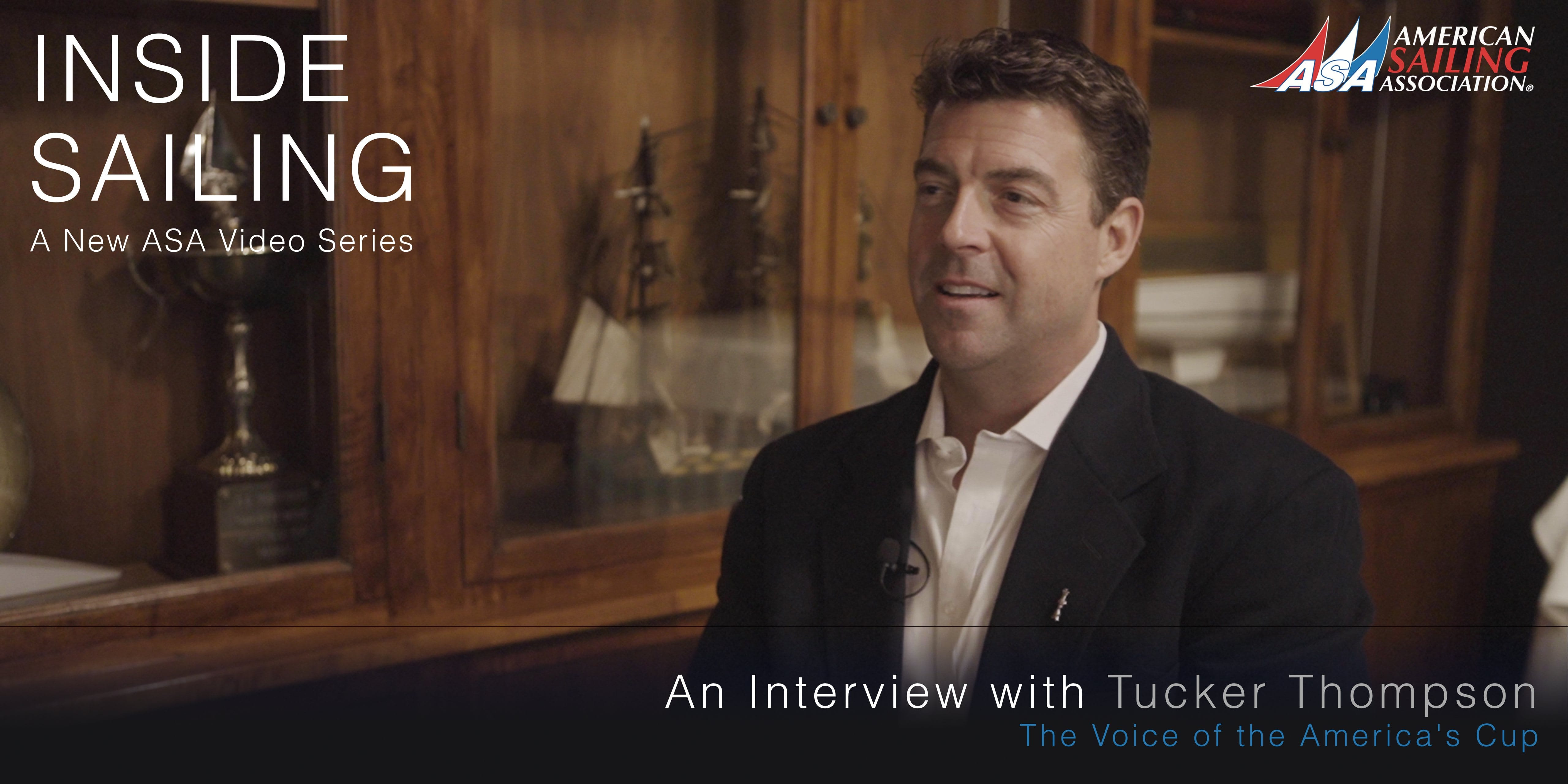 Inside Sailing - Tucker Thompson, Voice of the America's Cup