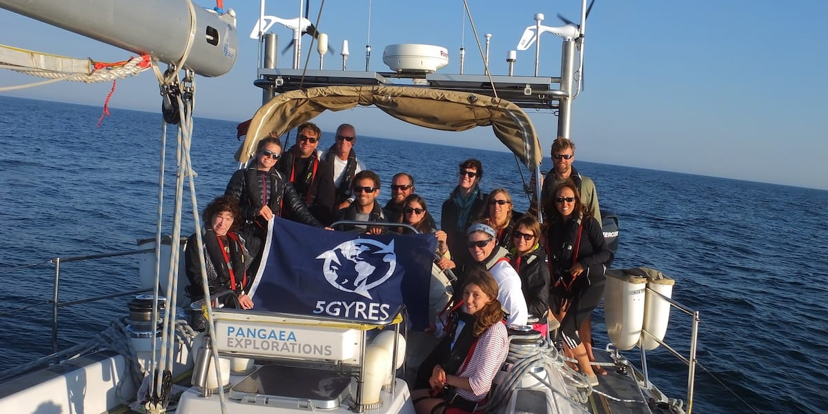 5 gyres plastic pollution scientists