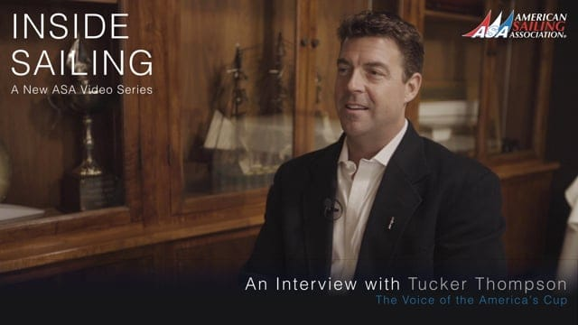 Inside Sailing - Tucker Thompson, 'Voice of the America's Cup'