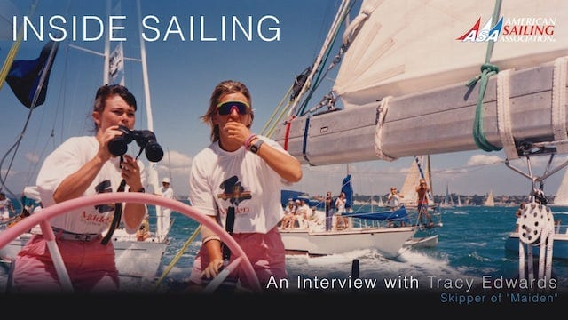 Inside Sailing – Tracy Edwards, Skipper of Maiden
