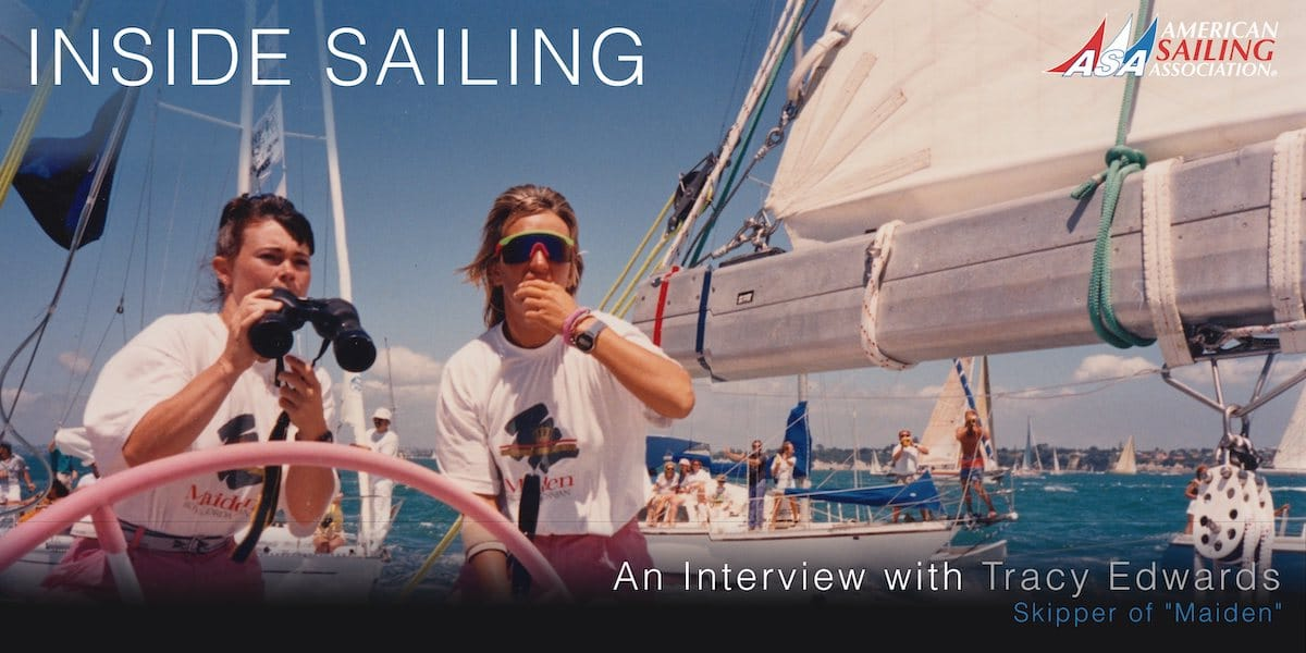 Inside Sailing Tracy Edwards Maiden