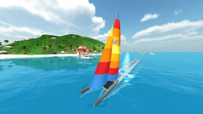 Sailing Challenge Beach Catamaran