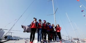 Dalian Songliao Bluedream Yacht-Driving Training School, China ~ An ASA Certified Sailing School