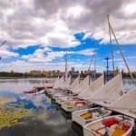 Cloud Lake Water Sport Center, Kunming, China ~ An ASA Certified Sailing School