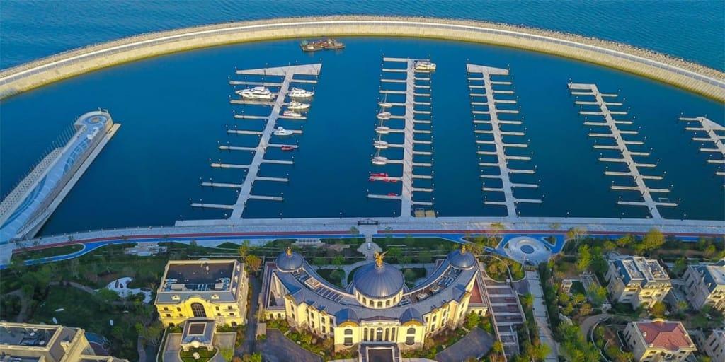 Sunac Yacht Club, Qingdao, China ~ An ASA Certified Sailing School
