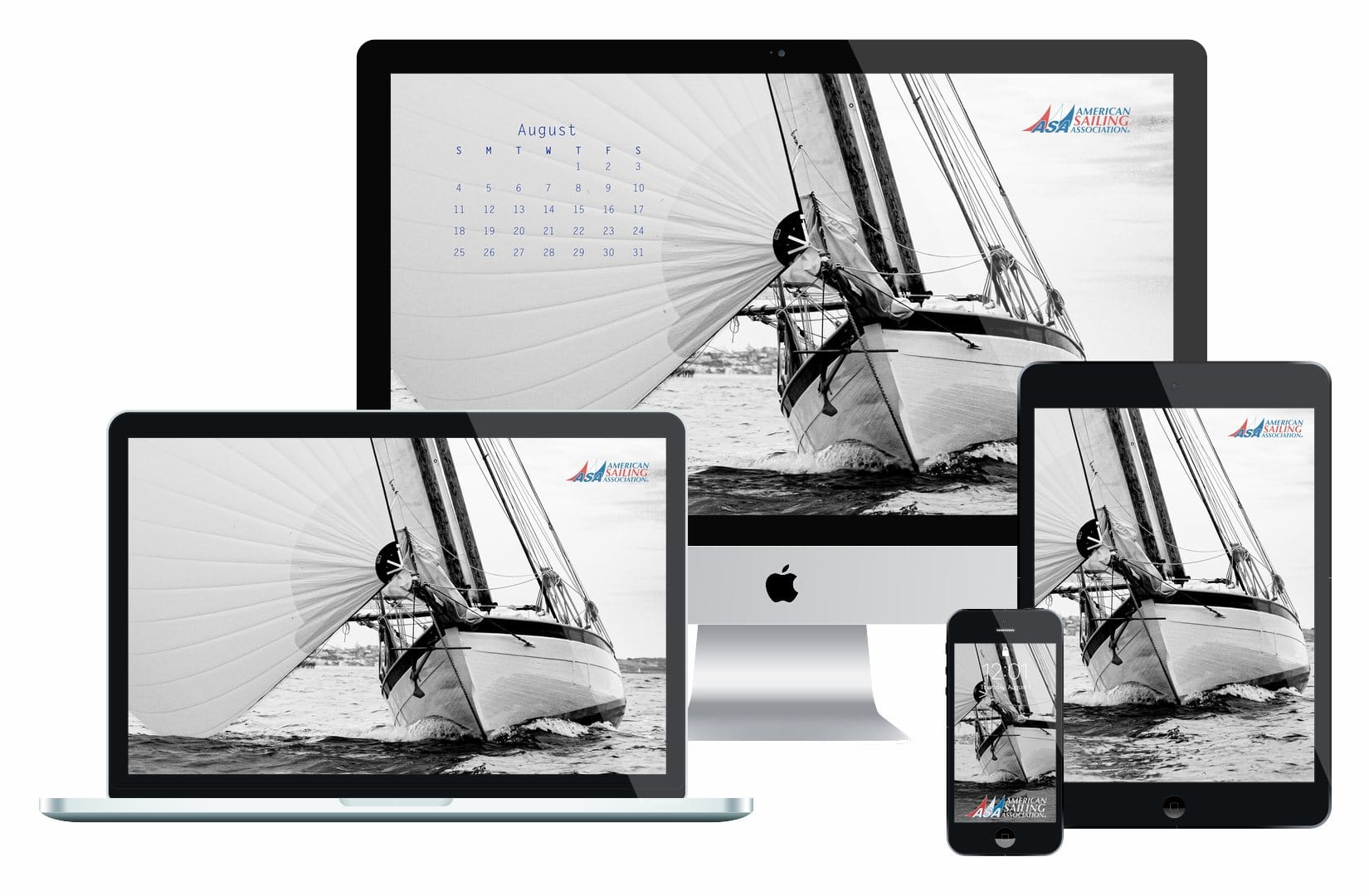 Desktop Wallpaper Sailing Calendar