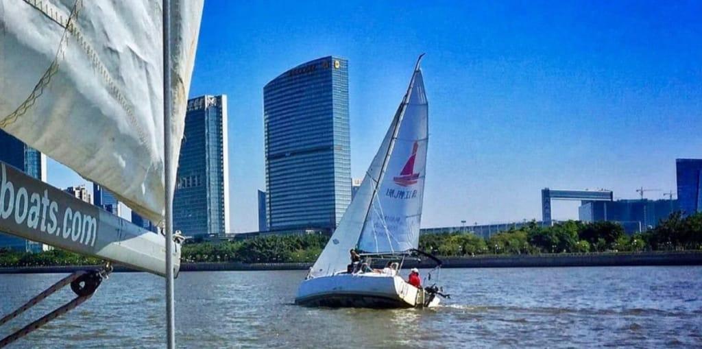 Pear River Sailing School, Guangzhou, China ~ ASA Certified Sailing School