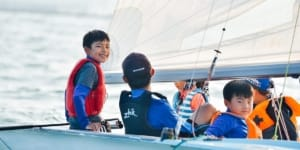 Rainbow Sailing Club, Haikou, China ~ ASA Certified Sailing School