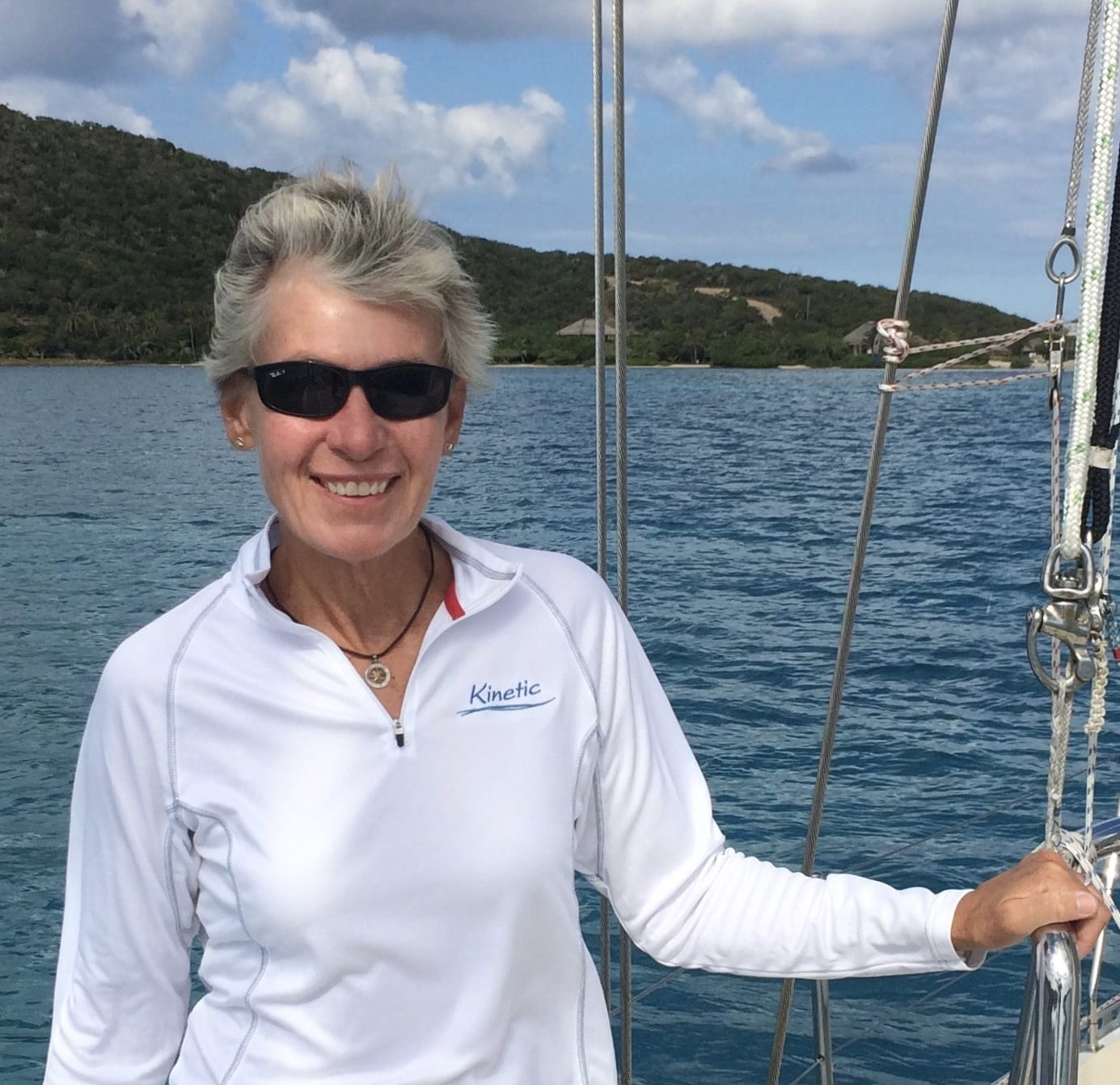 ASA Featured Instructor: Captain Lisa Batchelor Frailey, Sail Solomons