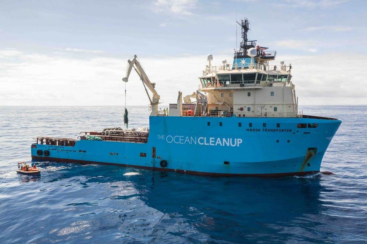 The Ocean Cleanup- Update