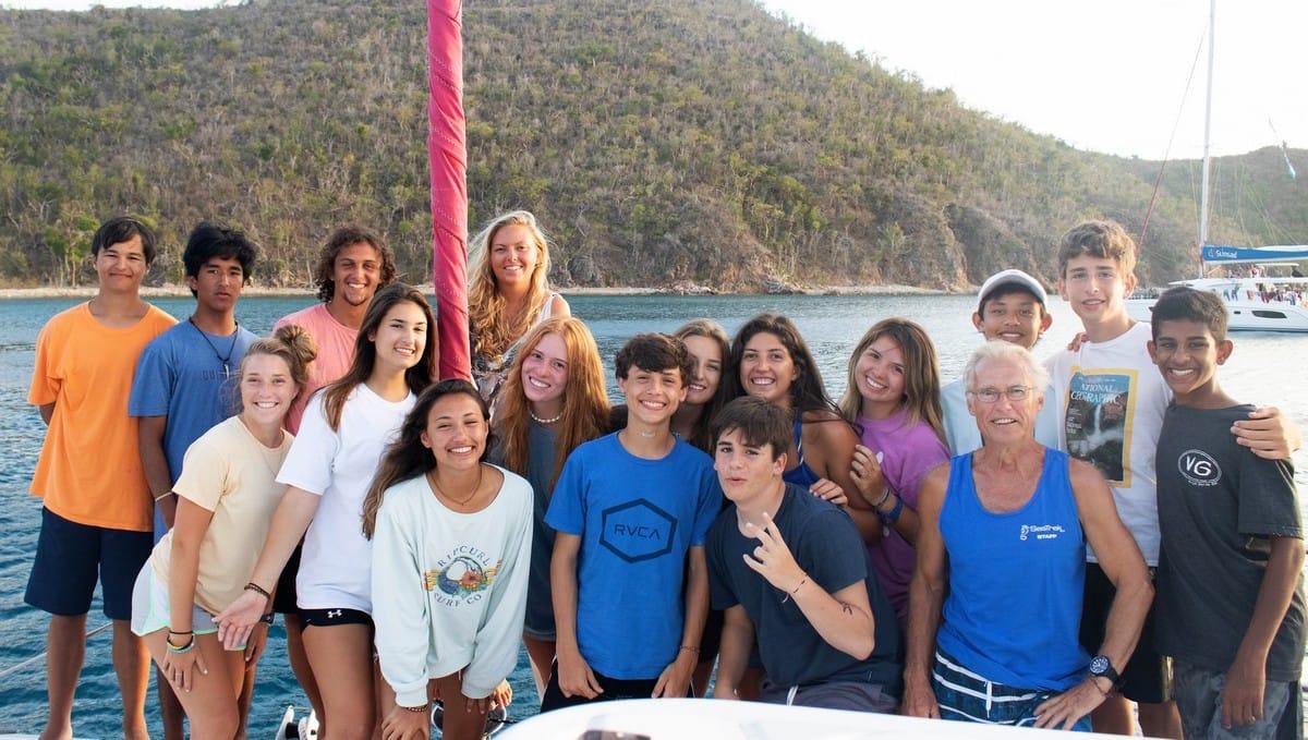 Teen Sailing Summer Program in the British Virgin Islands - American Sailing Association
