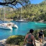 ASA Flotilla in Turkey with Med Sailing Adventures and Sea Safaris Sailing School