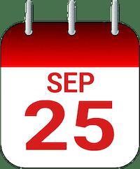 September 25th